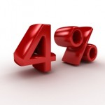 Fourth Quarter Interest Rates Remain Unchanged at 4 Percent