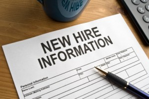 HIRE Act Hiring Form for Employee Beginning Employment Payroll Worcester County
