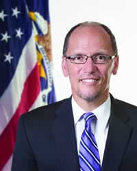 Secretary of Labor Thomas E. Perez